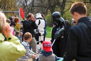 Darth Vader i dzieciaki