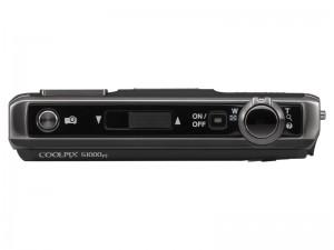 Nikon COOLPIX S1000pj - od góry