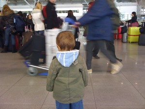 Na lotnisku. Autor: Wicher
