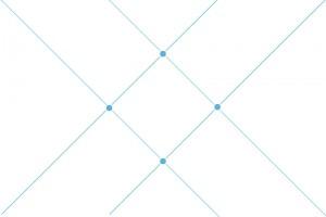 Kompozycja - Linie ukośne pod kątem 45 stopni