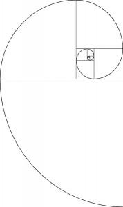 Kompozycja - Spirala Fibonacciego